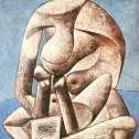 picasso Seated_Woman_with_a_Book_1937___-border