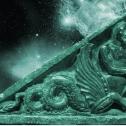 Ichthyo-Centaur Gandhara relief, Victoria and Albert Museum aquamarine copy
