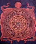 New Moon Tibetan Mandala
