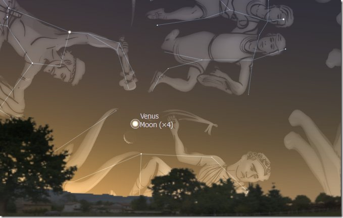 16 MAY MOON OCCULTS VENUS
