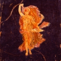 Fresco Painting of a Dancing Maenad From the Villa of Cicero at Pompeii my rendering