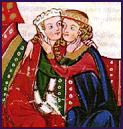 Manesse Codex Lovers small