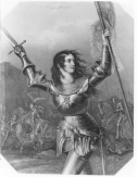 Joan of Arc Engraving