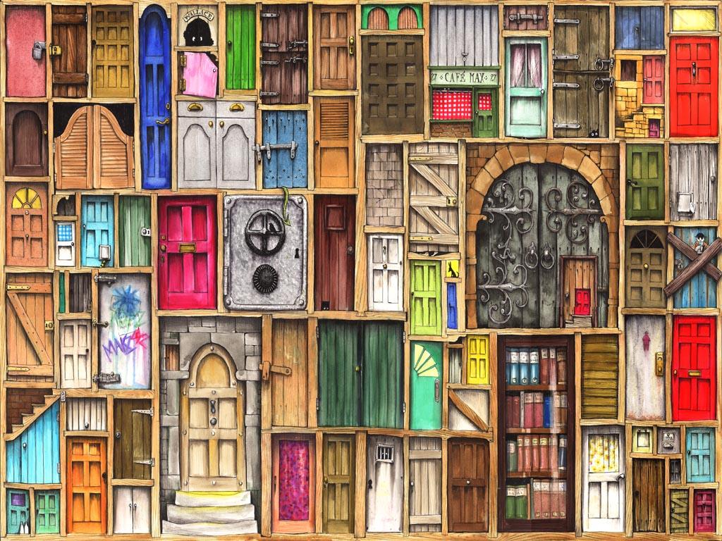 Doors by Colin Thompson & Eclipses\u0027 Doors of Perception | home of livingmoonastrology.com