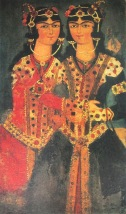 Twins_(Qajar_art,_Art_Museum_of_Georgia)