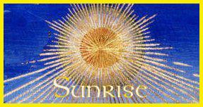 Living Moon Astrology Everyday Sunrise Rainbow Horoscope & Data