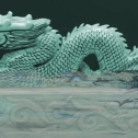 Green Water Dragon 1