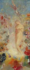 Pandora by Odilon Redon