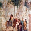 Europa on a bull, Pompeii's fresco