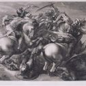 Copy of the Battle of Anghieri by Geranrd Edelinck