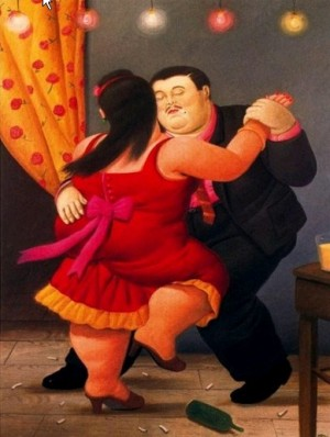 Fernando Botero The Dancers