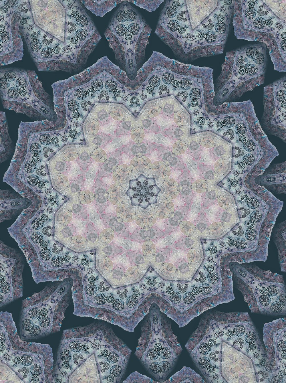 Transits of venus home of livingmoonastrology one of my mandalas nvjuhfo Gallery