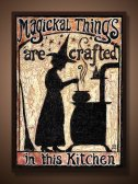 Magickal Things are crafted in this kitchen by Emily Balivet