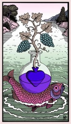 Ace Heart purple