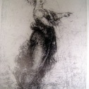 'Pointing Girl', drawing by Leonardo