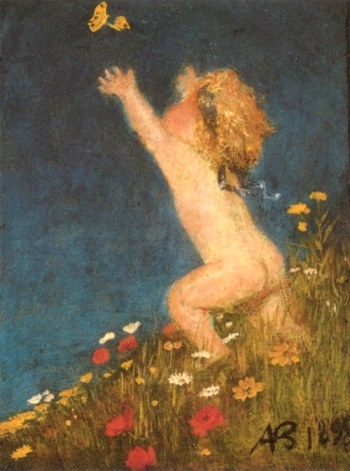 'Putto' by Arnold Bocklin