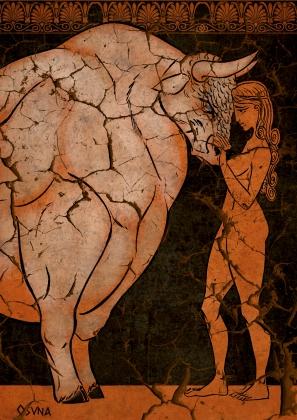 Pasiphae Enamorada by Gustavo Fernández Osuna