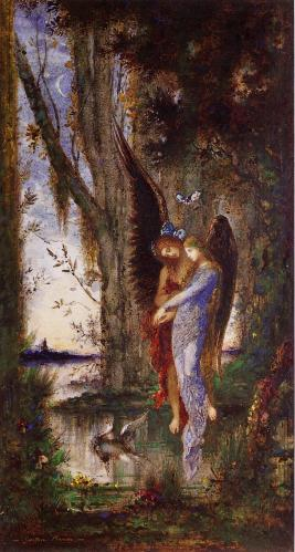 'Evening and Sorrow' by Gustave Moreau