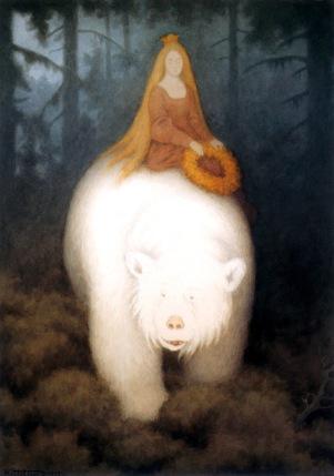 'White Bear King' by Theodor Kittelssen