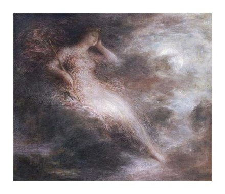 'Queen of the night' by Henry Fantin Latour