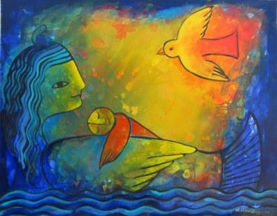 Artwork by Helga Hornung