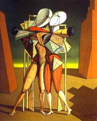 'Ettore ed Andromaca' by Giorgio De Chirico