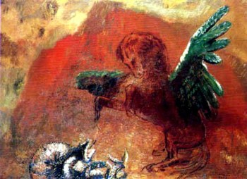 'Pegasus and the Hydra' by Odilon Redon