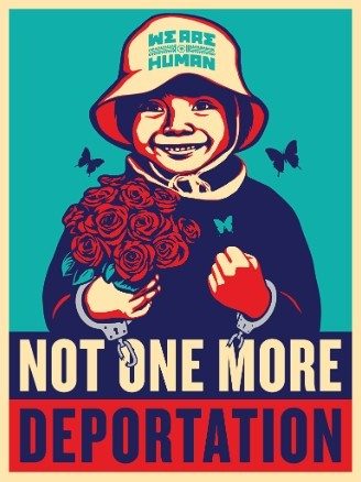 no-one-more-deportation-by-shepard-fairey