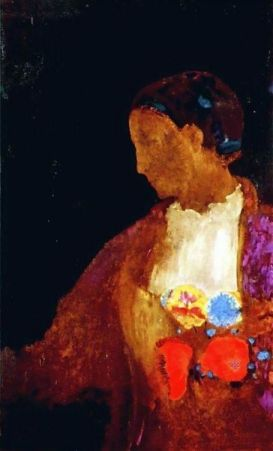 'The Doge's Wife' by Odilon Redon
