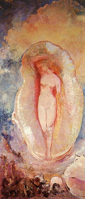'The Birth of Venus' by Odilon Redon 1912