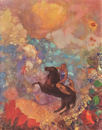 Artwork by Odilon Redon