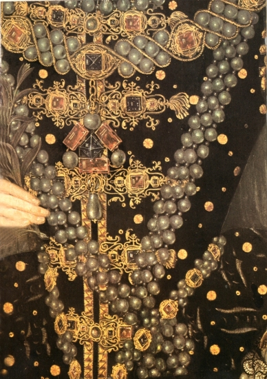 Elizabeth I one of many bejewelledd dresses