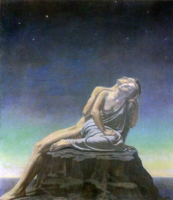 'Forgetting Passions' by Jean Delville
