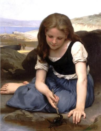 'The Crab' by Adolphe Bouguereau