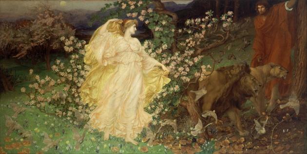 'Venus and Anchises' by mystical artist William Blake