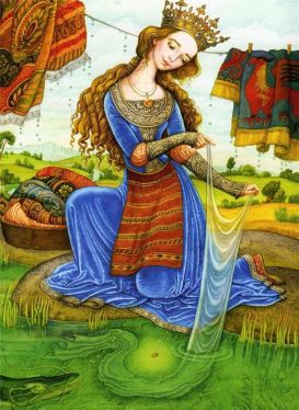 Eastern European Fairy Tale Illustration