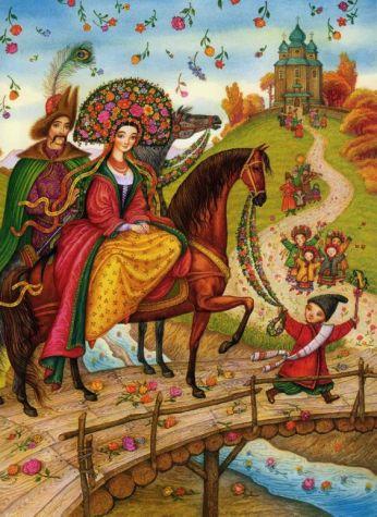 Ukrainian Fairy Tales by Ukrainian artist and illustrator Catherine Shtanko