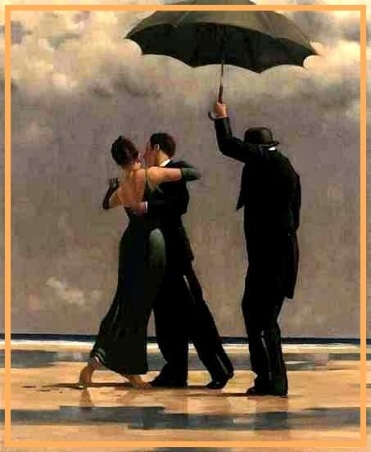 Artwork by Jack Vettriano