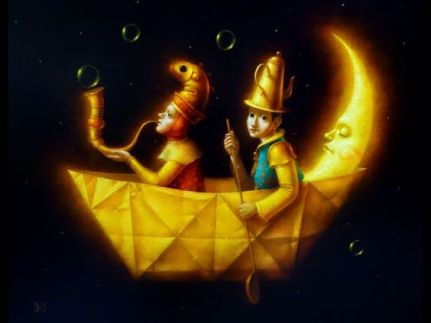 Artwork by Peruvian artist Roland Companoca