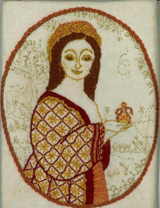 'Brigida', my embroidery