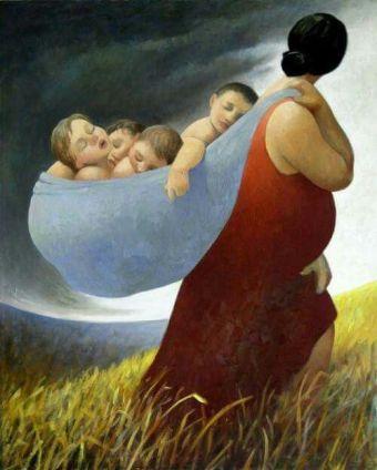 'Harvest' by Margarita Sikorskaia