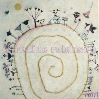 'Tour de Bird', artwork by Christine Robinson