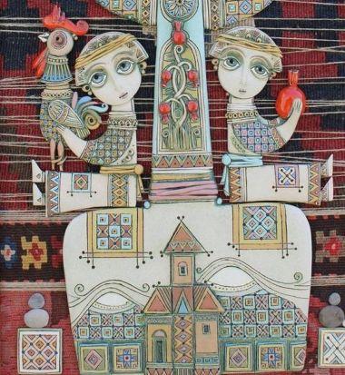Ceramic Art by Tsolak Shahinyan