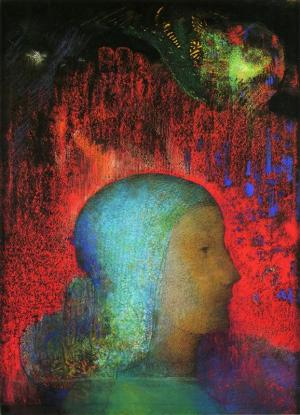 'Joan of Arc' by Odilon Redon