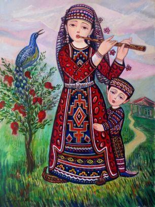 'Wistfulness' by Sevada Grigoryan, Armenian artist