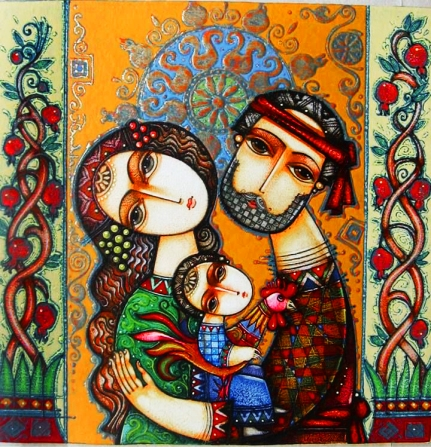 Artwork by Armenian artist Tsolak Shahinyan