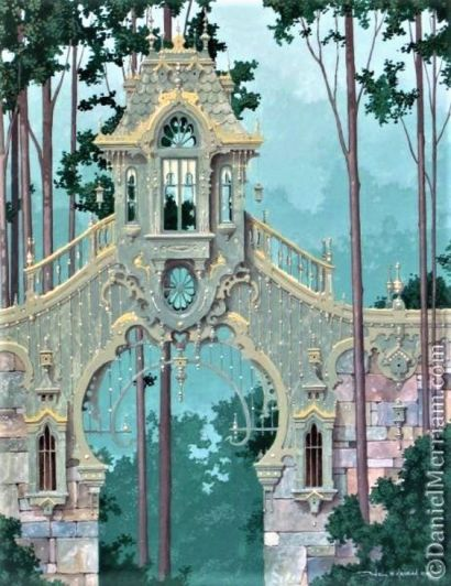Artwork by Daniel Merriam - Watercolorist Extraordinaire