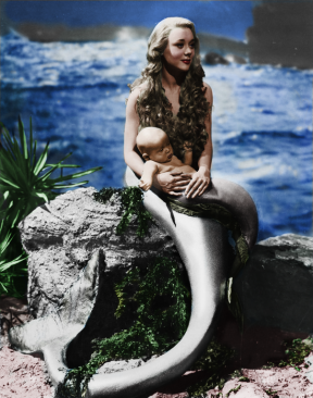 Glynis Johns as a Mermaid in Miranda - 1948