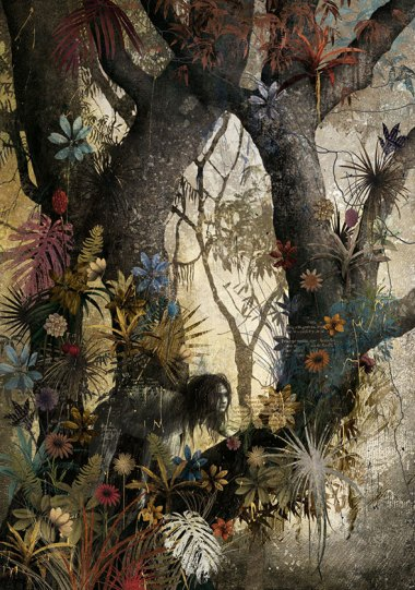 Work from the Jungle Book by Mexican artist Gabriel Pacheco