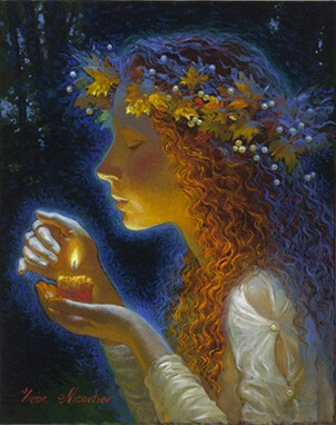 'Candlelight' by Victor Nizovtsev